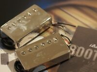 Bare Knuckle Pickups Bootcamp Old Guard Humbucker Pickup set - Nickel Covers