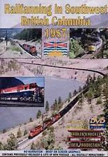 Railfanning in British Columbia 1987 DVD Broken Knuckle