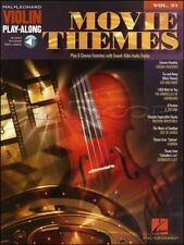 Movie Themes Violin Play-Along Volume 31 Music Book/Audio SAME DAY DISPATCH