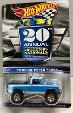 Hot Wheels '70 Dodge Power Wagon   20th Annual Hot Wheels Collectors Nationals