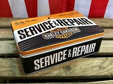 Harley-Davidson Service & Repair - Tin Box Flat