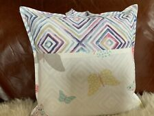 """Designer Fabric Childrens / Adults Reading Book Cushion Lovely Gift 16 X 16"""""""