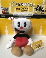 """FUNKO CUPHEAD 8"""" COLLECTIBLE AUTHENTIC PLUSH SERIES 1 NEW IN STOCK w/ TAGS"""