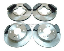 ROVER 600 620 TURBO 1993-1999  FRONT AND REAR BRAKE DISCS AND PADS SET NEW