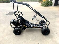 200cc 6.5HP Go Kart Wet Clutch Dune Buggy ATV Quad 4 Stroke Top Roll Cage 2018