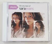 Playlist the Very Best of Sara Evans CD 2013 Sony Music