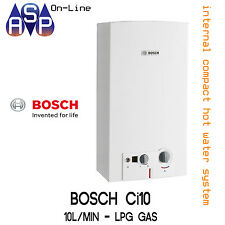 BOSCH INTERNAL COMPACT Ci10 - HOT WATER SYSTEM - 10L/min - LPG GAS