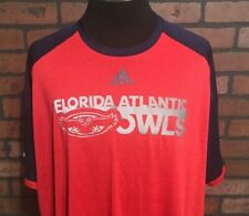 FAU Florida Atlantic University Owls Adidas Men's Polo Shirt Size 3XL