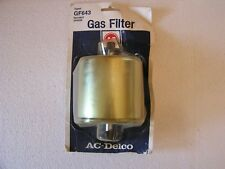 AC Delco GF643 Fuel Filter 25166938 New Old Stock Ford  Mazda and More