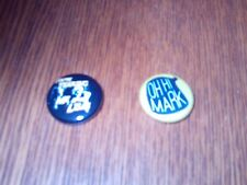 """THE ROOM/THE DISASTER ARTIST 1"""" PINBACK BUTTON-LOT OF 2"""
