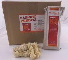 Anzünder Holzwolle 5kg + Mörtel Made in Germany  Kaminanzünder Bio Top  EAN11818