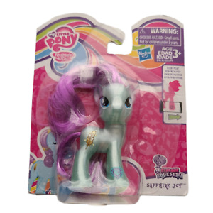 NWT My Little Pony Toy Sapphire Joy Equestria Ages 3+ Multicolored Teal 1359