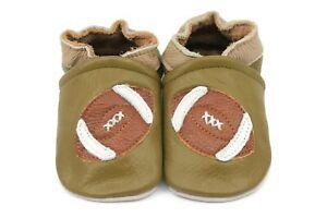 Kidzuu Soft Sole Baby Infant Leather Crib Shoe