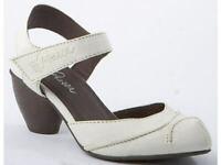 Piazza Damenschuhe Sling Pumps Leder Sandalen weiß Gr.35-42 920095-81 Neu21