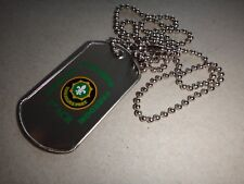 Operation ENDURING FREEDOM 2001 US 2nd ARMORED CAVALRY RGT Dog Tag + Ball Chain