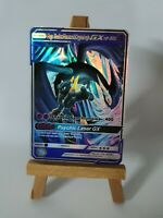 Mega Shadow Mewtwo and Crypto Lugia Proxy Custom Pokemon Card in Holo