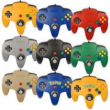 Original N64 / Nintendo 64 Controller / Schwarz / Rot / Blau / Gold / Grau