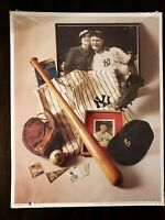 """MLB No 6 The Iron Horse Lou Gehrig 11x14"""" Poster 1993 (A-2)"""