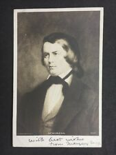 Vintage Postcard: Historical Figure: #A27 : Schumann