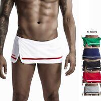 SEOBEAN Men's towel shorts bathing wear home pajama shorts culottes corduroy