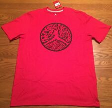 Nike Air Jordan Mens T Shirt Jumpman 23 Gym Red Style 826176 ~ XL