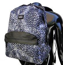 Vans Old Skool Cheetan Black Logo Mens Unisex Womens Backpack School Bag