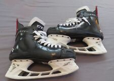 Used CCM FT1 Pro Stock Ice Hockey Skates 10 D/A NJ Devils Noesen Jetspeed Tacks