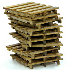 BANTA MODELWORKS WOOD PALLETS (7) F G Model Railroad Unpainted Structure BM925