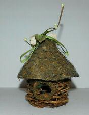 Neat Wicker Birdhouse Decoration
