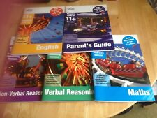5 x LETTS 11+ SUCCESS HOW TO SUCCEED IN 11+ MATHS ENGLISH VERBAL & NON REASONING