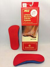 Apex Lynco Orthotic Inserts L305 Sports Series Women's Size 5 Heel to Ball - NEW