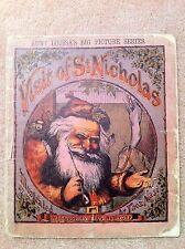 Visit of St. Nicholas, Moore, Nast, McLoughlin Christmas Aunt Louisa's RARE 1869