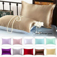 100% Pure Mulberry Silk Pillowcase 19 Momme Ultra Soft Silk Pillow Case 20*30in