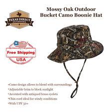 Medium Mossy Oak Breakup Infinity Camo Boonie Bucket Hat Outdoor Cap