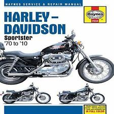1970-2010 Haynes Harley-Davidson Sportster Hardback Repair Manual