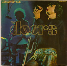 """2x12"""" LP - The Doors - Absolutely Live - k5089 - washed & cleaned"""