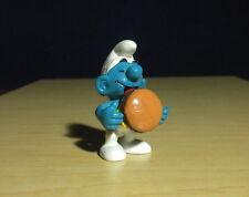 Smurfs Hamburger Smurf Cheese Burger 1983 Vintage Figure Schleich Toy Peyo 20158