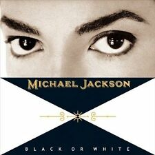 Michael Jackson BLACK OR WHITE CD+DVD Single Dual Disc Numbered LIMITED EDITION