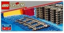 RARE LEGO SYSTEM 9V ELECTRIC TRAIN TRACKS SET (4520) - BRAND NEW IN BOX Last One