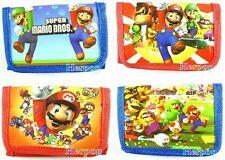 Wholesale - New Lot 12 pcs Super mario cartoon children wallet purses gift bags