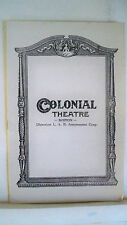 JANUARY THAW Playbill ROBERT KEITH / CHARLES MIDDLETON Tryout BOSTON 1946