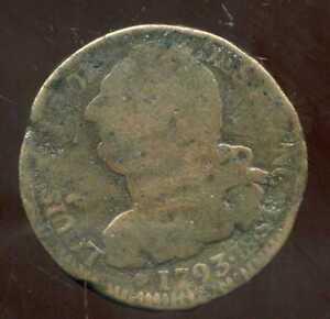 LOUIS XVI  2 sols 1793 BB  ( 2 sols FRANCAIS )  ( 1 )