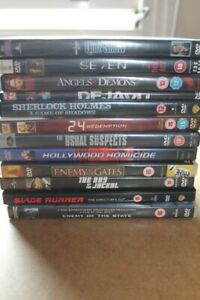 DVD Bundle of Action Movies x 12 DVDs - Very Good Used Condition