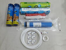 For Eureka Forbes RO Water Filter 1 Year Service Kit+80 GPD Vontron Membrane