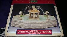 Lemax Lighted Village Square Fountain