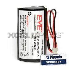Visonic Powermax Bell Box Siren Battery 3.6V MCS-730, MCS-710, 0-9912-K ER34615M