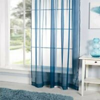 "Emma Barclay One Plain Voile Curtain LUCY 153 x 183 cms (60 x 72"") TEAL NEW"