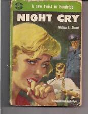 NIGHT CRY ~ AVON 597 1954 3RD WILLIAM L STUART ~ READER
