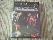 POOL MASTER JUEGO DE BILLAR PLAYSTATION 2 PS 2 NUEVO  PRECINTADO
