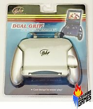 New Dual Grip for Nintendo Game Boy Advance GBA SP - Platinum Silver